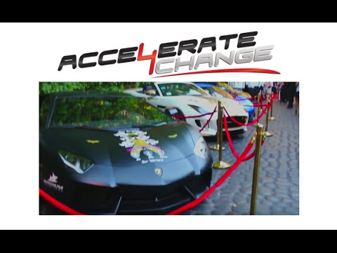 Accelerate4Change Charity Fundraiser, Beverly Hills 2015