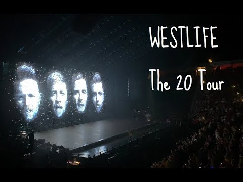 WESTLIFE The 20 Tour | Manchester Arena | 29/06/2019