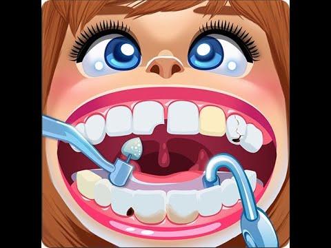 Мистер Зубастик  у СТОМАТОЛОГА!!! Лечим и чистим зубки Play Doh Dr  Drill and Fill