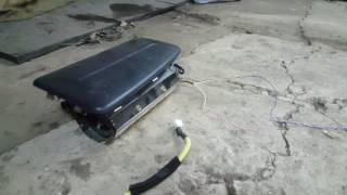 Взрыв подушки Airbag Nissan Primera P11