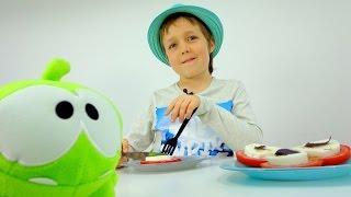 Ам Ням, Адриан и КАПЕРЕЗЕ - как приготовить. Простые рецепты для детей: Готовим вместе!