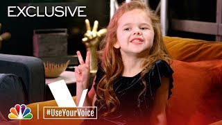 The Voice 2018 - Claire Crosby on Her Favorite Woman (#UseYourVoice)