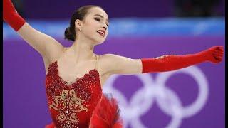 ALINA ZAGITOVA Olympics Team Event FS OC ОИ 2018 Перевод комментариев к ПП в команднике