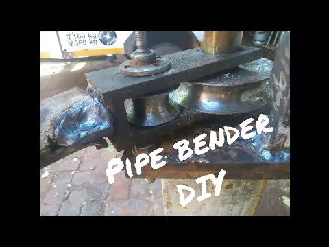 Manual Pipe roll bender