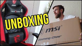Dostałem najnowszy fotel od MSI - UNBOXING / MAG CH110