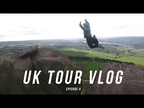 Parkour in the Peaks   UK Tour Daily Vlog Ep.4