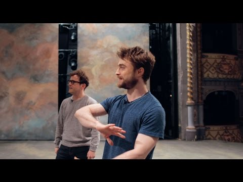 THE OLD VIC | Tour of the theatre with Daniel Radcliffe & Jo