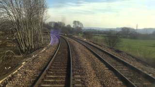 Matlock to Nottingham Cab View