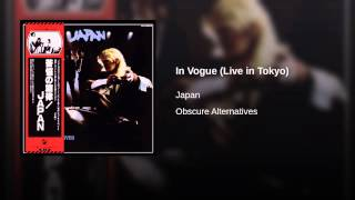 In Vogue (Live in Tokyo)