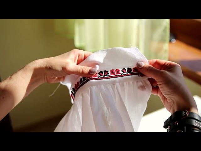 Розкрій та пошиття сорочки