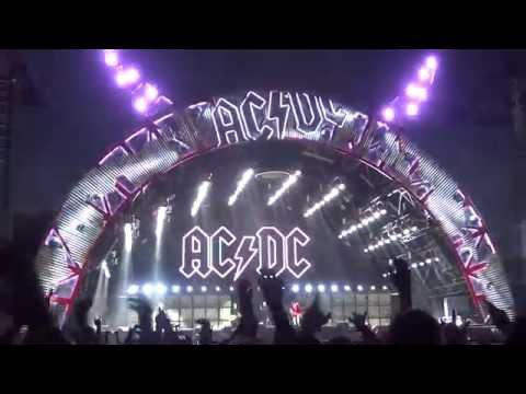 AC/DC Back in Black Live Adelaide Oval 21-11-15