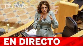 DIRECTO #CORONAVIRUS | MONTERO comparece en la COMISIÓN DE HACIENDA