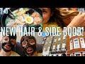 NEW HAIR & SIDE BOOB // VLOG (2.10)
