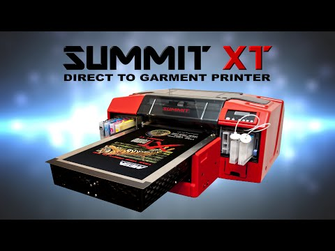 302a42fab Summit XT - DTG (Direct to Garment) Printer
