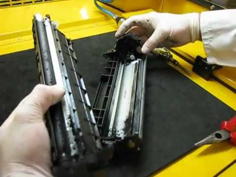 How to refill HP Q2612A & Canon FX-10 toner cartridge