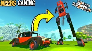 Scrap Mechanic - Transformer Destruction!