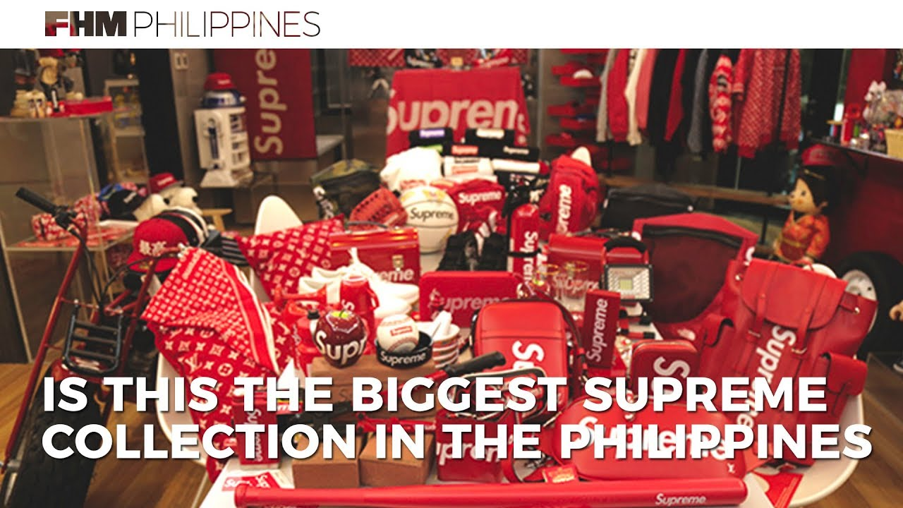 Is This The Biggest Supreme Collection In The Philippines  - YouTube 5cd9f690e