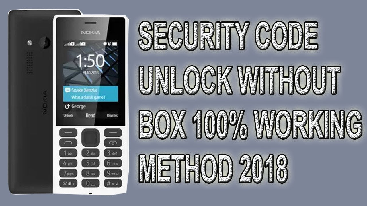 Nokia 150 (RM-1190) unlock without box 100% working