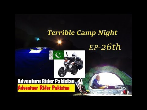 Camping North Pakistan Adventure motorbike trip