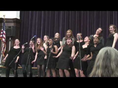 Boston Latin School Wolfettes Holiday Concert 2009 Part 2
