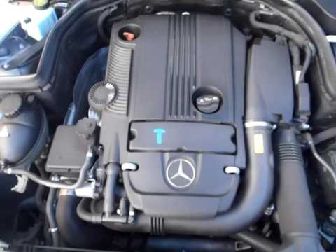 M18975 C200CGI M271.860 1.8T 4CYL PETROL SEDAN 2010 ENGINE TESTING