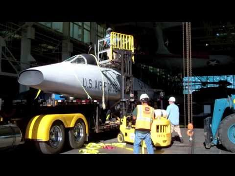 F-100F Super Sabre Arrival - Pacific Aviation Museum