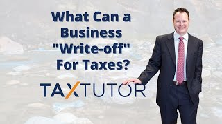 What Can a Business 'Writeoff' For Taxes?