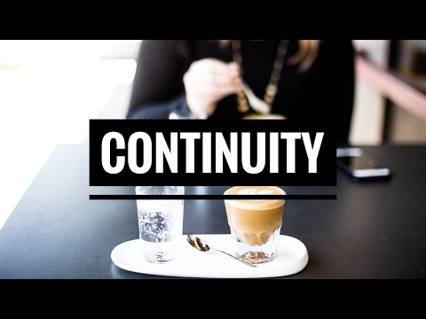 on continuity... and being your authentic self.
