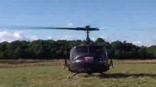 Huey 509 flying sequence