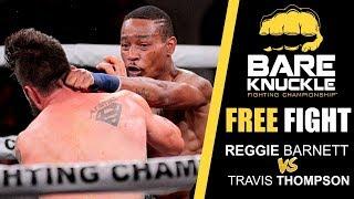 BKFC 1 повний бій: Реджі Барнетт проти Тревіс Томпсон