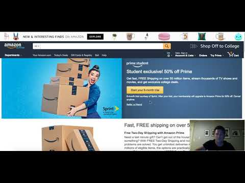 Can I use Amazon Prime to Dropship on Ebay???