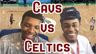 LEBRON GOES OFF! COULDNT FINISH THE VID!! CAVS VS CELTICS GAME 1 2017 FULL HIGHLIGHTS AND REACTION!