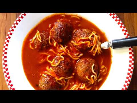 Low Carb & Keto Spaghetti and Meatballs: Easy - 3 ingredientsa