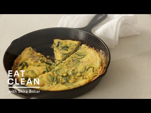 Spicy Zucchini Frittata - Eat Clean with Shira Bocar - YouTube