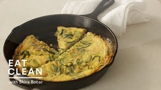 Spicy Zucchini Frittata - Eat Clean With Shira Bocar