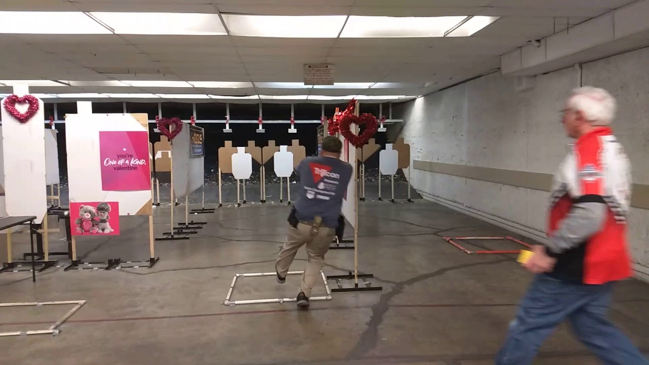 Detroit Sportsman's Congress USPSA - February 2019 - Open Minor - Stage 1 TPV