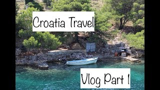 Croatia Travel Vlog: Part 1