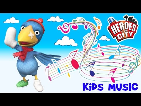 Kids Songs | The Calamity Crow Song - Heroes of the City | ♫