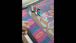 Kalamkari shawls