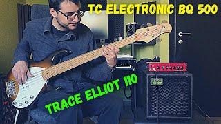 TC ELECTRONIC BQ500 + TRACE ELLIOT BASSBOX 110