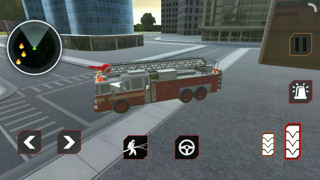 Trò chơi lái xe cứu hoả xe cứu hộ 911