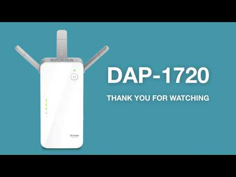 How to Set Up the AC1750 Wi-Fi Range Extender (DAP-1720)