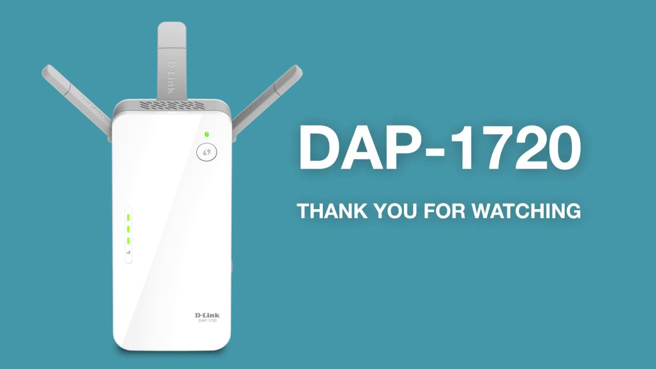 DAP-1720 Video Guide : How to setup - D-Link Indonesia