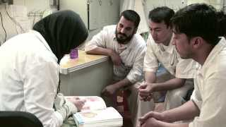 Discover how MSF is training Afghan medical staff to save lives