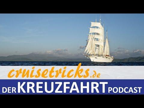 """Mit dem Großsegler """"Star Clipper"""" in Indonesien - cruisetricks.de Kreuzfahrt-Podcast"""
