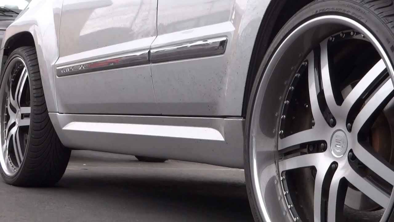 2010 Jeep Srt8 Cherokee W 24 Rims Youtube