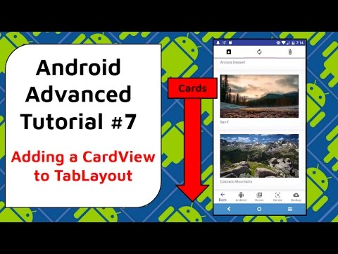 CardView Tutorial [Adding a CardView to Instagram-like App] - Android  Advanced Tutorial #7