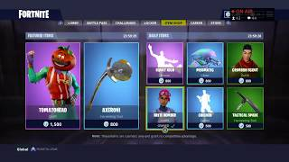 New Legendary Skins? - New Featured and Daily Items | Fortnite Item Shop Live