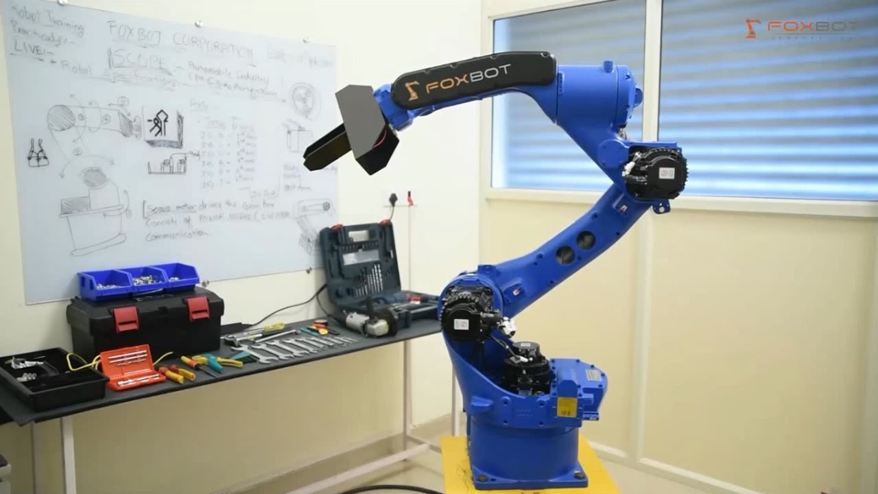 Foxbot Corporation Industrial Robotics Training Institute Youtube