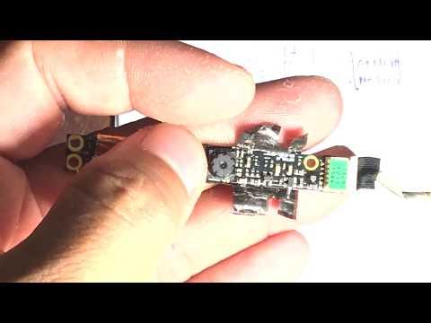 Đấu cụm camera laptop vào cổng USB   Foci